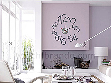 Wall Sticker Decorative Clock - Numbers