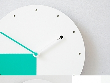 Point Round Non Ticking Silent Wall Clock