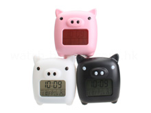 Lovely Piggy MoodiCare Clock