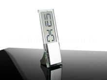 Transparent LCD Mini Clock