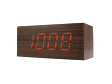 Mysterious Wood Clock (Walnut Wood)