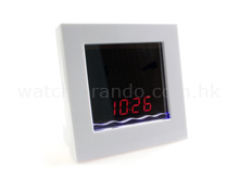 Mirror Sound Controlled Clock