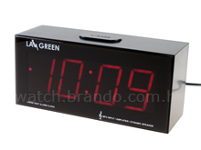 LED Digit Alarm Clock w/ Speaker