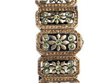 Chinese Vintage Bronzed Bracelet Watch