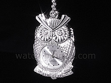 USB Jewel Owl Watch Necklace Flash Drive