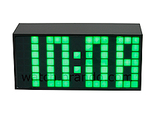 Matrix LED Alarm Clock