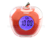 Crystal Apple Talking Clock