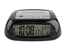 Sun Power LCD Alarm Clock