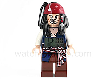 The LEGO X Alarm Clock X Pirates of the Caribbean - Jack Sparrow