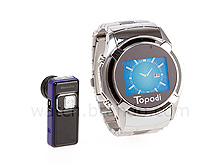 Dual Sim Cards Bluetooth Wrist Watch Mobile with Camera