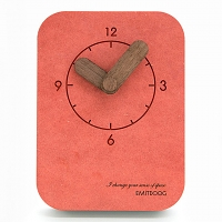 Concrete Table Clock B
