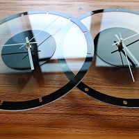 Transparent Acrylic Clock