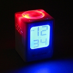 USB Mini Luminous Aroma Alarm Clock