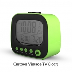 Cartoon Vintage TV Clock