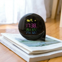 Mini Q Remote Weather Station Alarm Clock