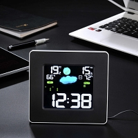 Remote Weather Station Alarm Clock (IW006)