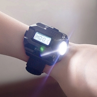 Compass WristLight Digital Watch