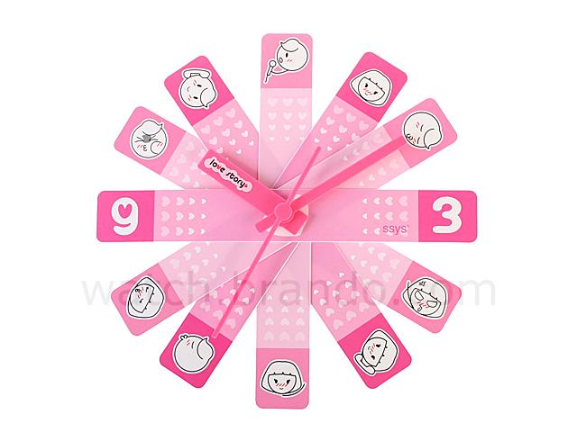 Love Story Clock