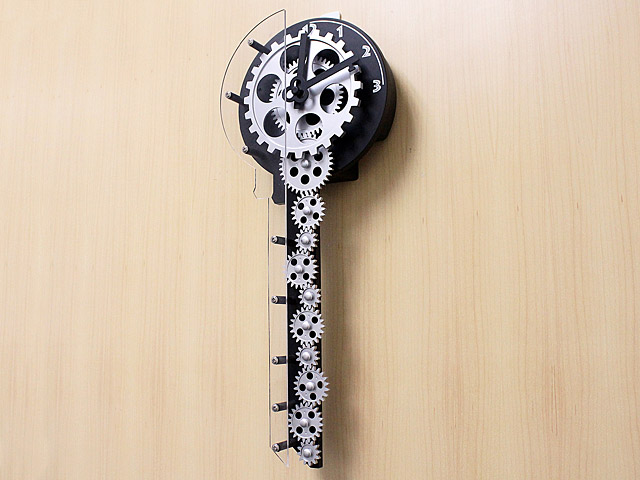Key Gear Clock