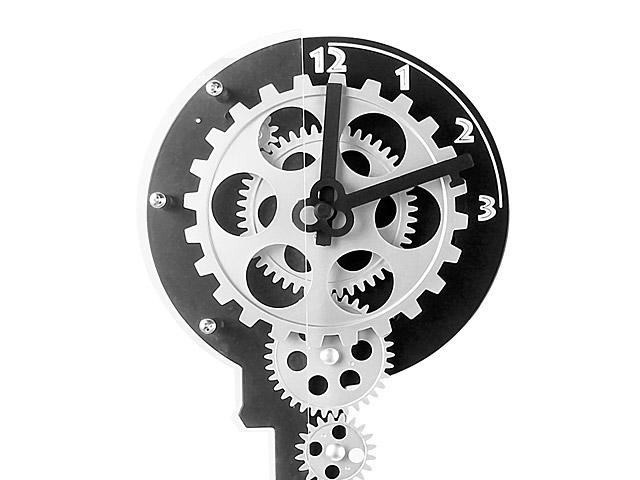 Key Gear Clock