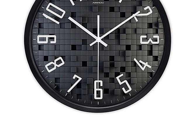 3D Block Wall Clock