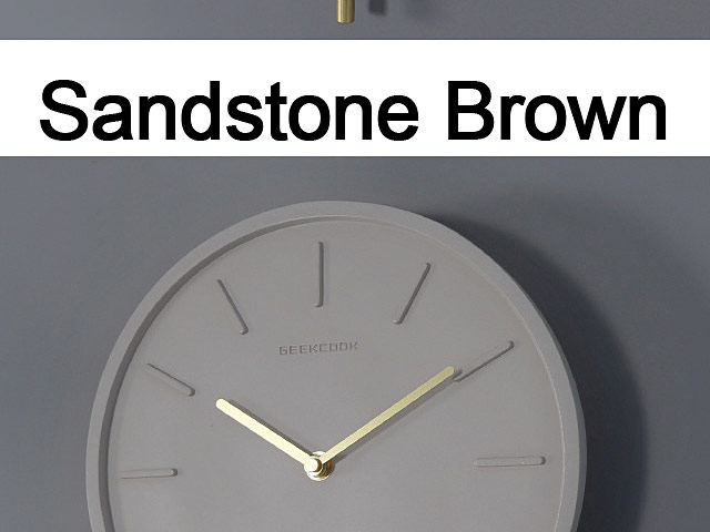 Concrete Swing Clock