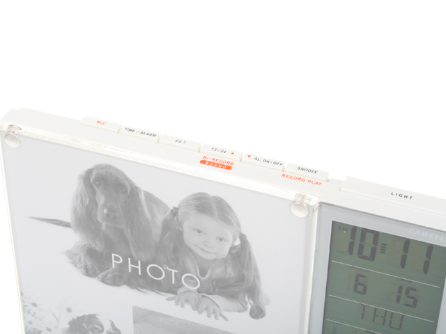 Recording Photo Frame Alarm Clock