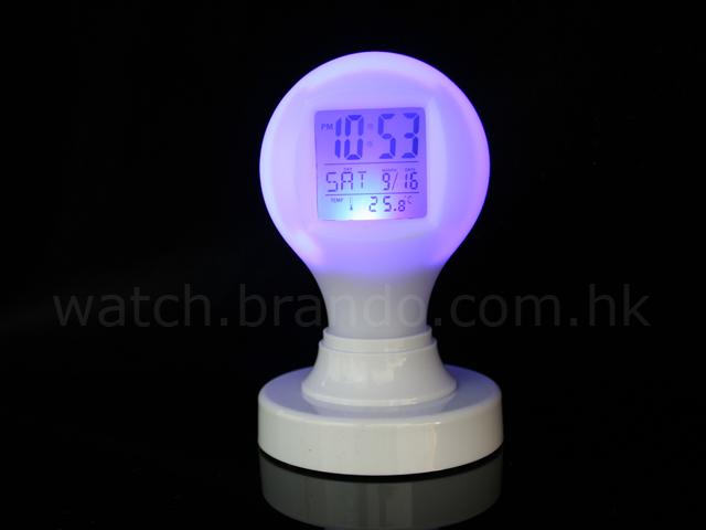 Magic Bulb Digital Alarm Clock