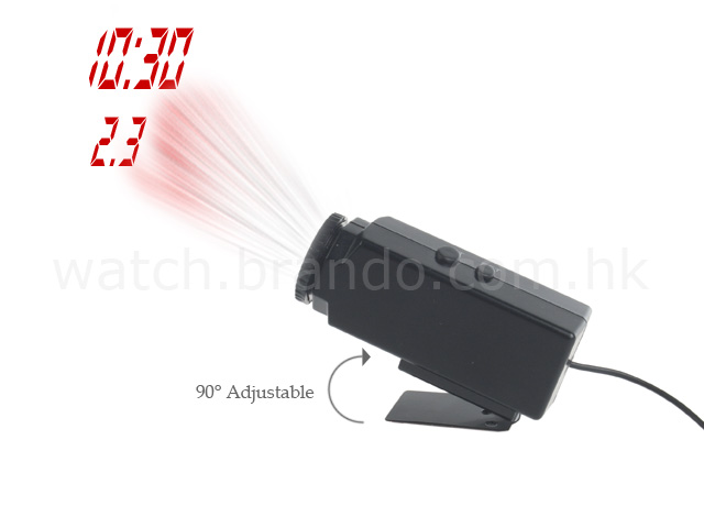 Car Projector Clock