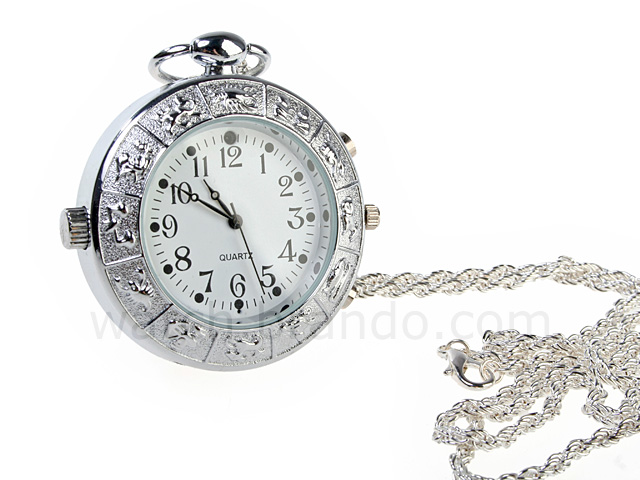 Spy Necklace Zodiac Watch Camera Camcorder