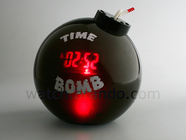 bomb alarm clock. Black Bedroom Furniture Sets. Home Design Ideas
