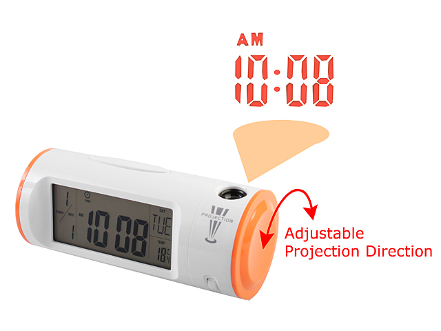 Clapping Controlled Backlight Projection Clock