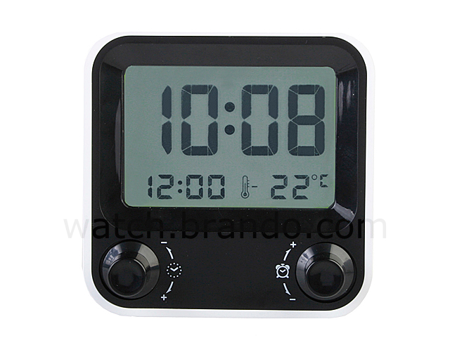 Desktop Alarm Clock (Model #AQ-73)