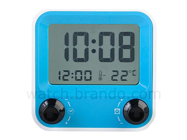Desktop Alarm Clock Model Aq 73