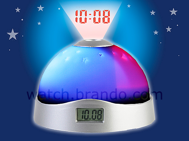 Space Projecting clock