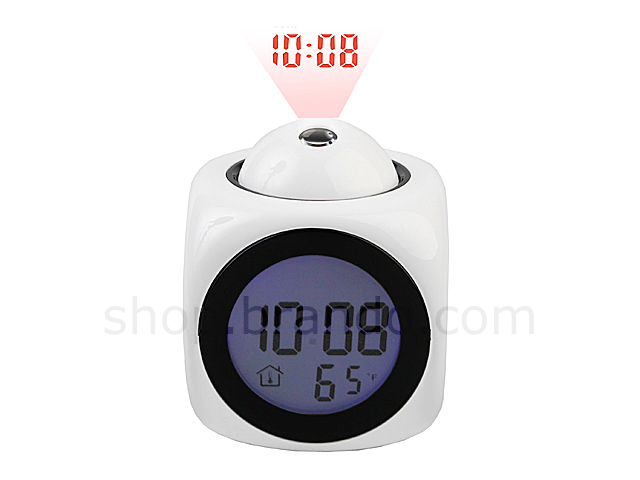 Cube Projection Talking Clock