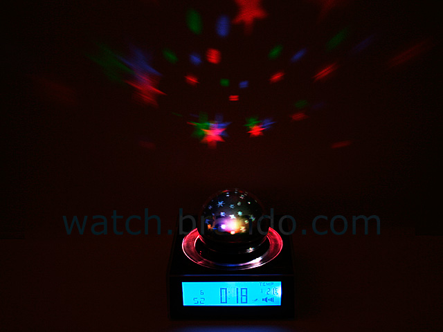 Starry Sky Projection Clock (Blue LED)
