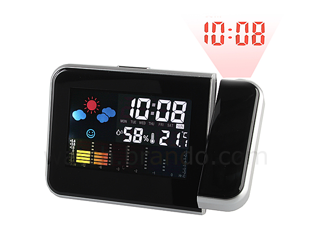 Weather Station Projection Clock 8109