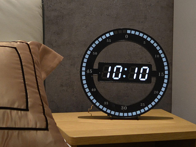 Simple Animated LED Clock