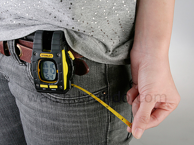 Stanley Clip Watch with Tape Measure