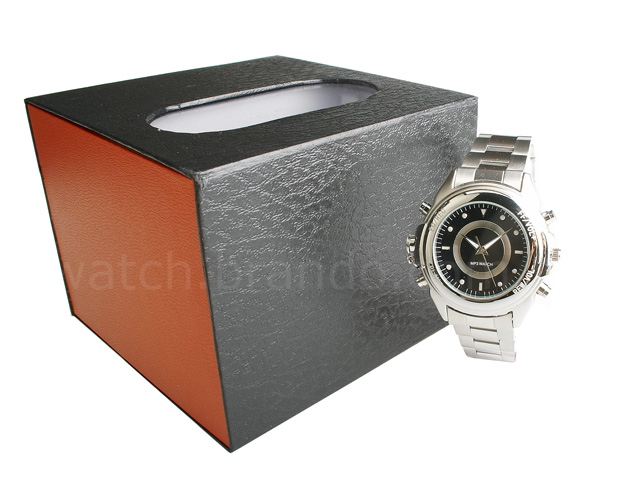 Stainless Steel MP3 Watch (1GB)